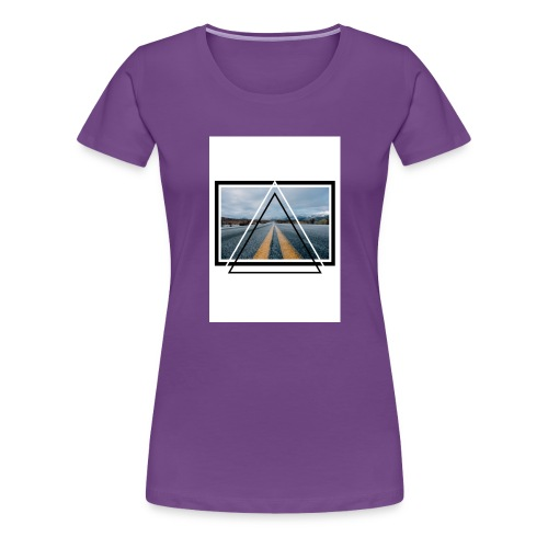 On the Road - T-shirt Premium Femme