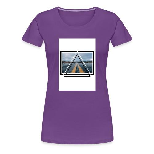 On the Road - T-shirt Premium Femme