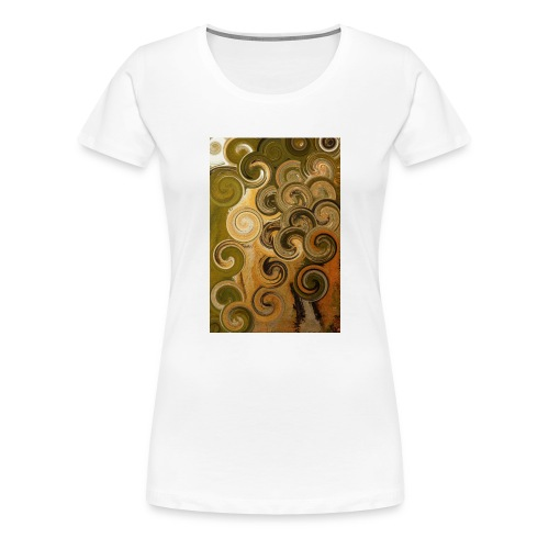 digital Acryl Artwork - Frauen Premium T-Shirt