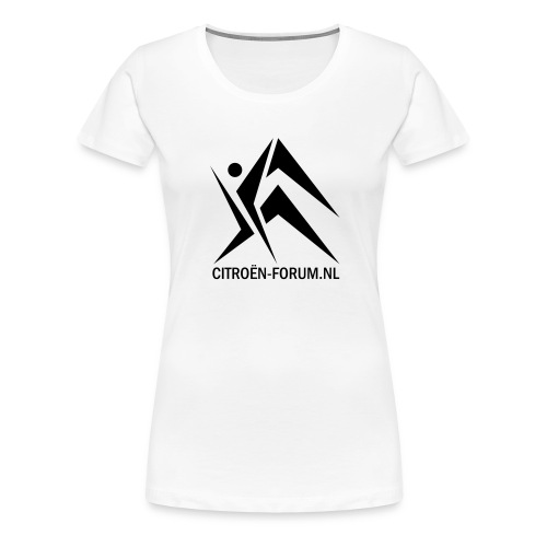 logo cfnl groot - Vrouwen Premium T-shirt