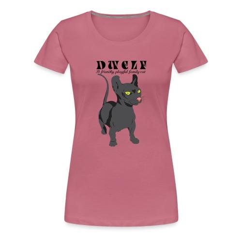 DWELF - Naisten premium t-paita
