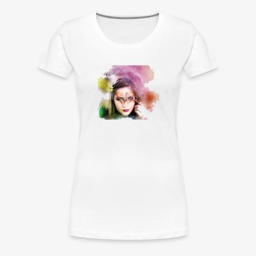 Girl colore - T-shirt Premium Femme