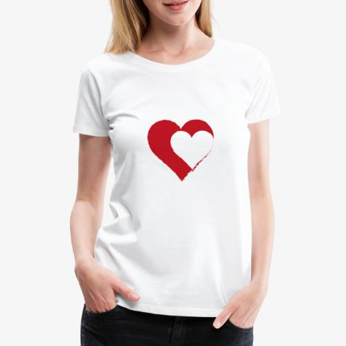 2LOVE - Maglietta Premium da donna