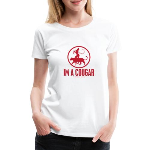 cougar - Women's Premium T-Shirt