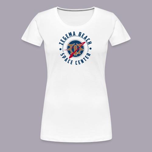 Zegema Beach Space Center - T-shirt Premium Femme