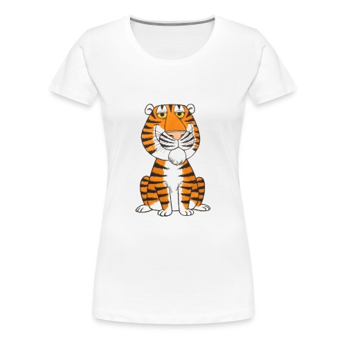 kidscontest Tiger - Women's Premium T-Shirt