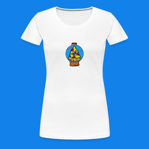 pizza the great food - Camiseta premium mujer