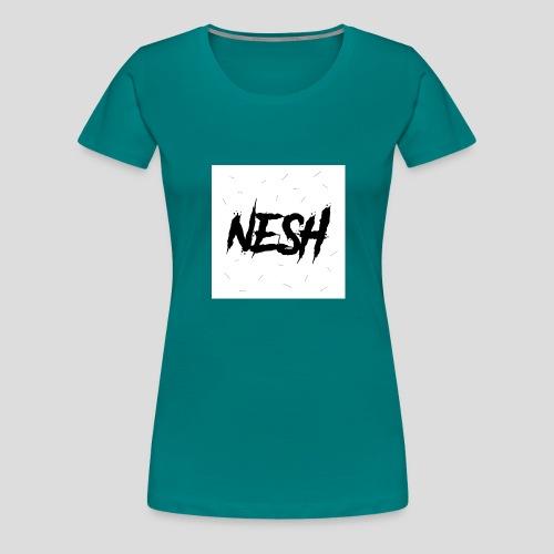 Nesh Logo - Frauen Premium T-Shirt