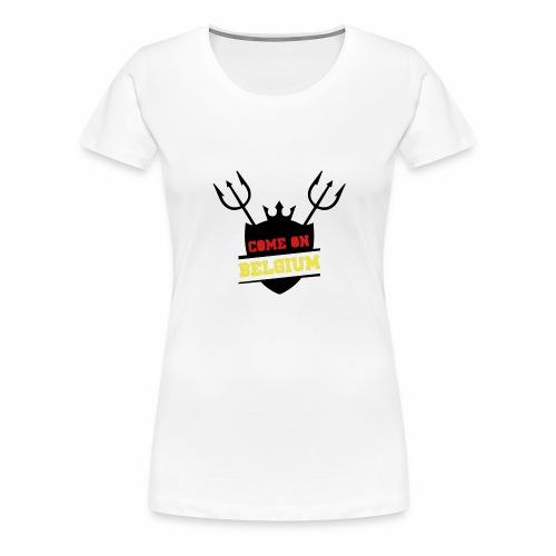 Come On Belgium - T-shirt Premium Femme