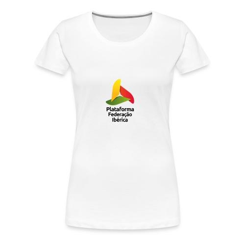 logo pt face png - Camiseta premium mujer