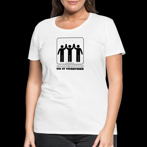 Co ops Together - Women's Premium T-Shirt
