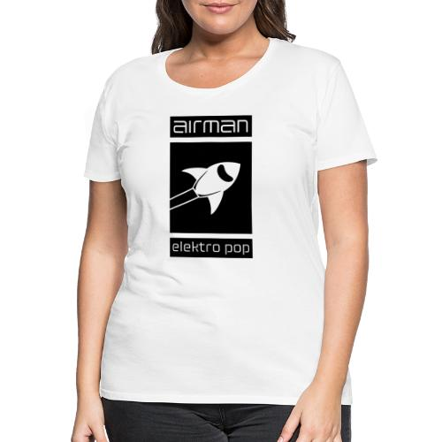 airman_logo_grossflaechig - Frauen Premium T-Shirt