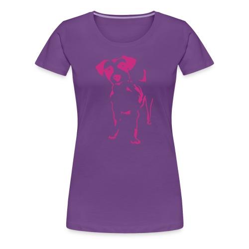 Jack Russell Terrier - Frauen Premium T-Shirt