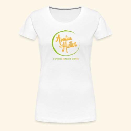 Aventure Hustive Logo - T-shirt Premium Femme