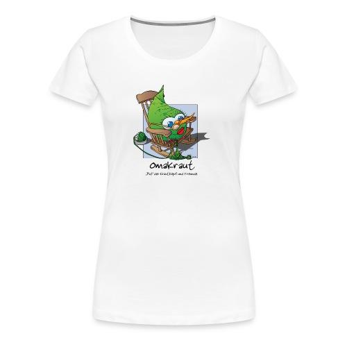 Omakraut - Frauen Premium T-Shirt