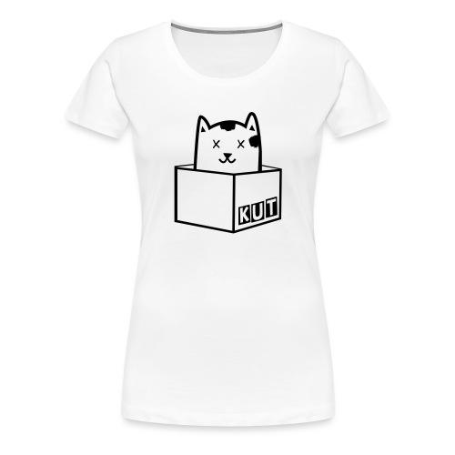 Black Vector Kitten Under Tire Records - Vrouwen Premium T-shirt