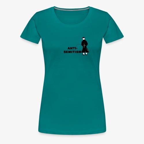 Pissing Man against anti-semitism - Frauen Premium T-Shirt