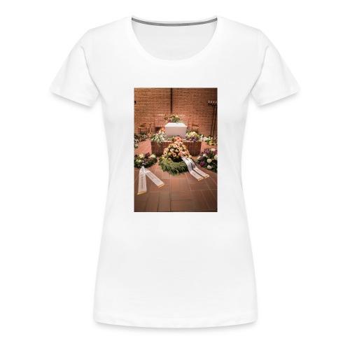 Begravelse - Dame premium T-shirt