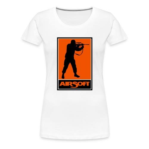 airsoft - Camiseta premium mujer