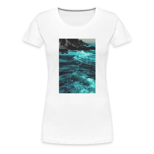 paradise-jpg - Vrouwen Premium T-shirt