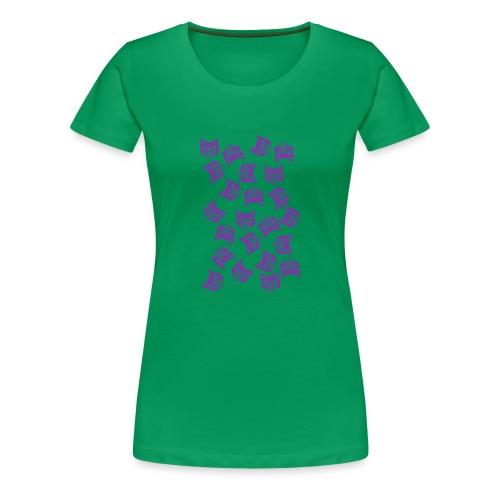 Magenta Mollys - Naisten premium t-paita
