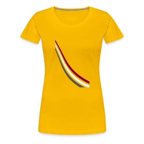 stripes shirt png - Vrouwen Premium T-shirt