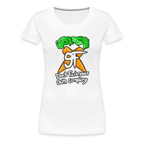 9F FONT final png - Frauen Premium T-Shirt