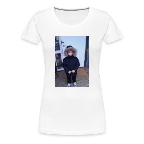 bra bild på mig som 4 år gammal - Premium-T-shirt dam