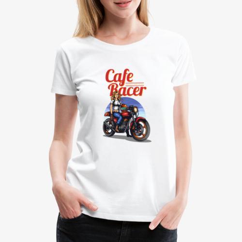 Cafe Racer - T-shirt Premium Femme