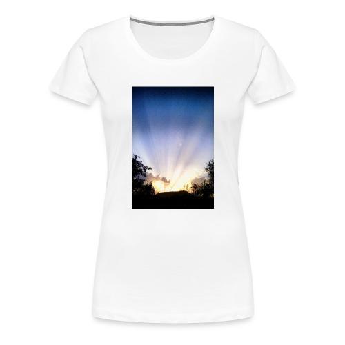 Sunset Ray 1 - T-shirt Premium Femme