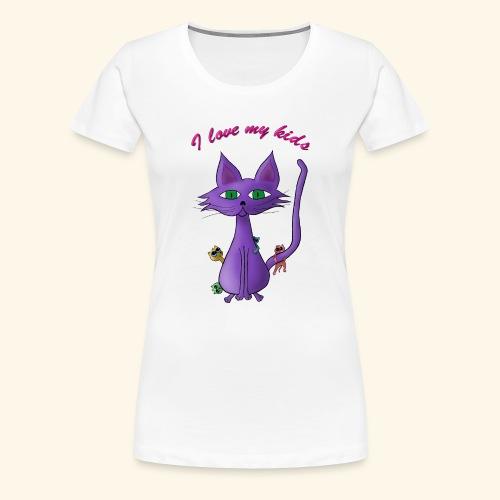 i love my kinds - Frauen Premium T-Shirt