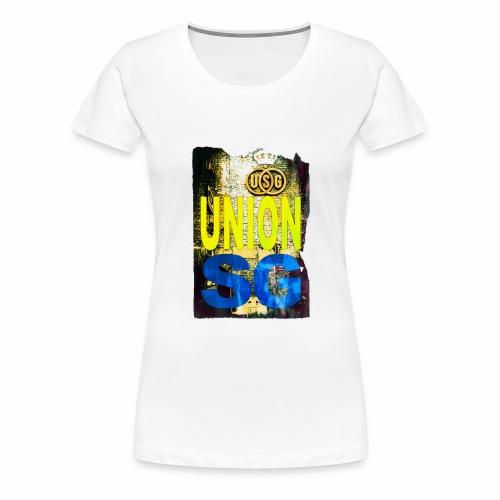 UNION SG - Vrouwen Premium T-shirt