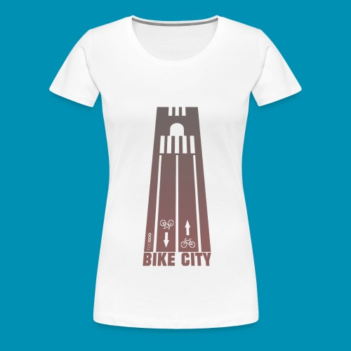 BikeCity png - Maglietta Premium da donna