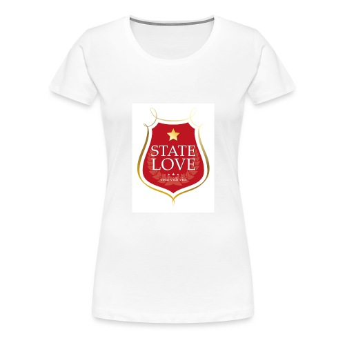 State-Love - Frauen Premium T-Shirt