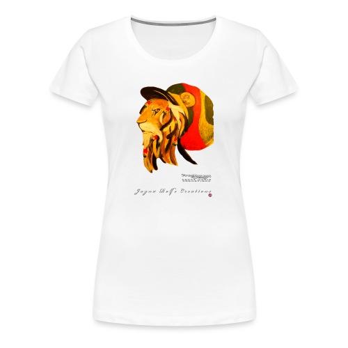Dred Lion 6 png - Women's Premium T-Shirt