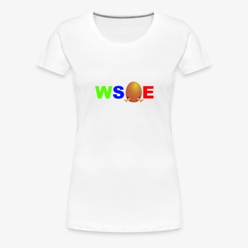 Ostern Schriftzug - Frauen Premium T-Shirt