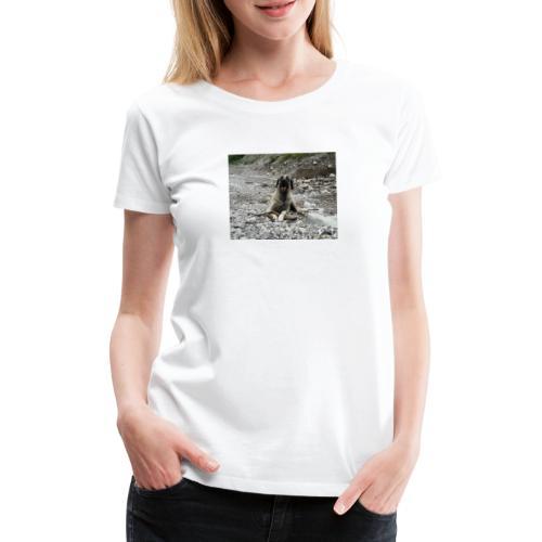 Kangal im Flußbett - Frauen Premium T-Shirt
