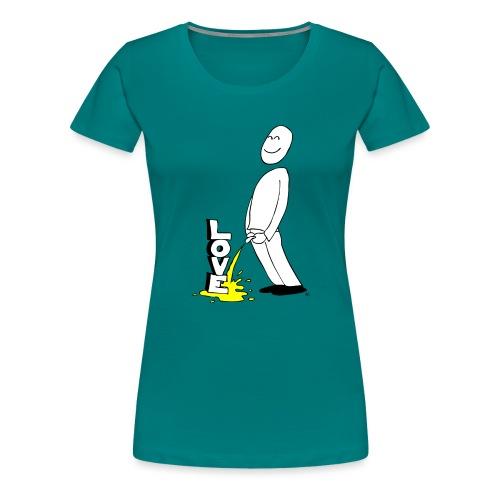 tissekopp original - Premium T-skjorte for kvinner