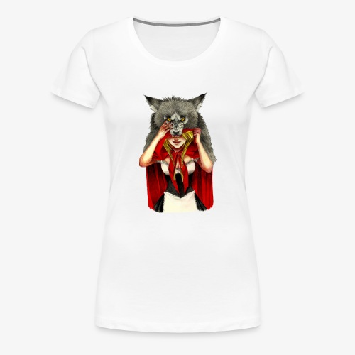 Little Red Riding Hood - Camiseta premium mujer