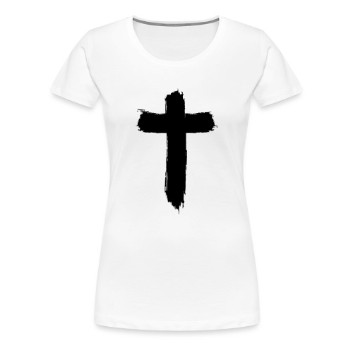 Brushed-Cross - Frauen Premium T-Shirt