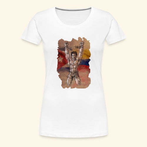 Lucha Fuerza Libertad - Camiseta premium mujer