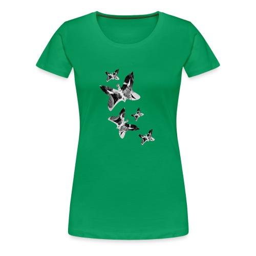 Schmetterlinge - Frauen Premium T-Shirt