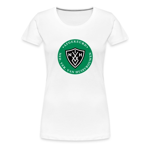 NVVH_afgekeurd_eps - Vrouwen Premium T-shirt
