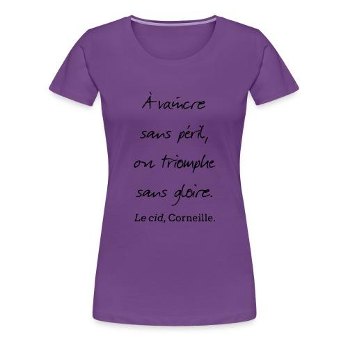 Le cid 2 - T-shirt Premium Femme