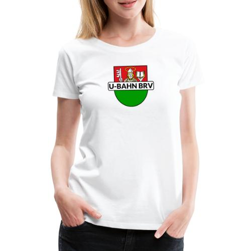 U-Bahn Bremervörde Logo - Frauen Premium T-Shirt