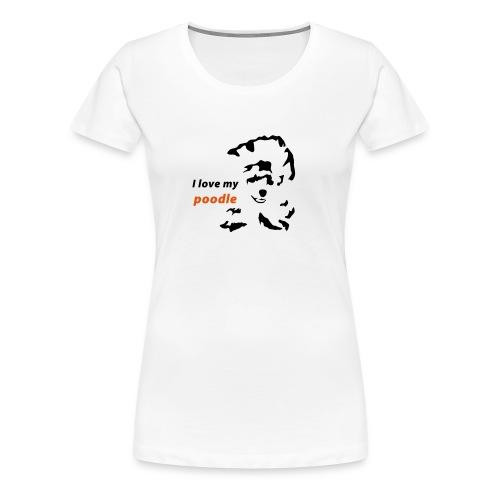 mypoodle f - Frauen Premium T-Shirt