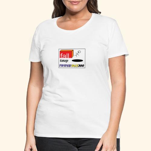 fall damage - Women's Premium T-Shirt