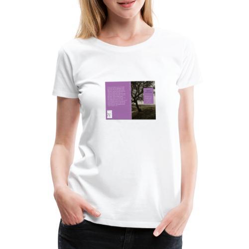 Cover erster Roman - Frauen Premium T-Shirt