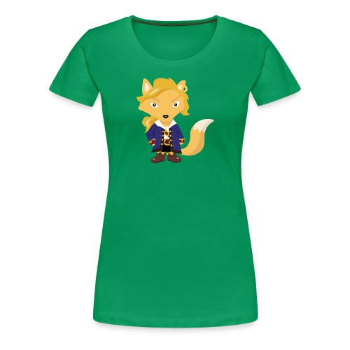 Renard Guybrush - T-shirt Premium Femme
