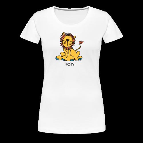 lion bang on the door - Women's Premium T-Shirt